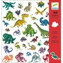 Stickers, 160 st dinosaurs